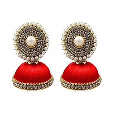 Red Beads Earrings