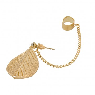 Metal Golden Ear-Cuff